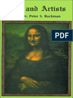 Art And Artists - Dr. Peter S. Ruckman 72 pgs