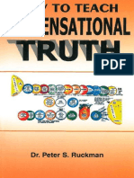 How to Teach Dispensational Truth - Dr. Peter S. Ruckman 44 pgs