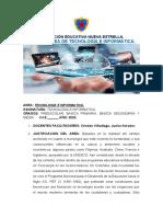 Plan de Area de Tecnologia e Informatica de Caimito Version 1..Docxc.docx