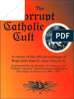 The Corrupt Catholic Cult - Dr. Peter S. Ruckman 47 pgs