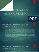 PROSPECTIVA EN AMERICA LATINA