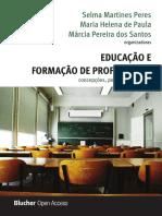 EDUCAÇÃO E FORMAÇÃO DE PROFESSORES OpenAccess