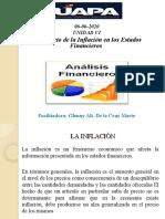 TEMA VI. El Impacto de la Inflación en los Estados Financieros