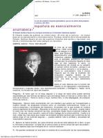 1997 - Gustavo Bueno -  La cultura española es esencialmente analfabeta. El Mundo 18 en