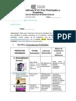 Práctica N° 2 - Prod. Restringidos y Prohibidos-2020 (Autoguardado)