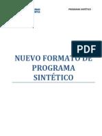 PROGRAMA SINTETICO ADMINISTRACIÓN DE PERSONAL