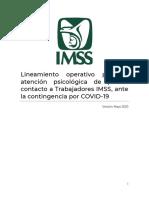 Copia de 05052020_Lineamiento Operativo para la atención psicológica de primer contacto a Trabajadores IMSS