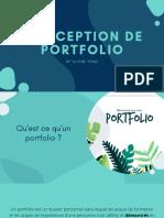 CONCEPTION DE PORTFOLIO