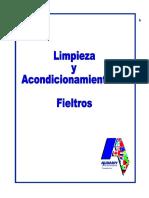 ACONDICIONAMIENTO DE FIELTROS Español