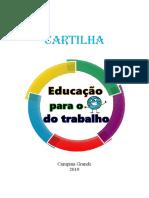 Cartilha - Educação para o mundo do trabalho