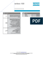 AC Fluid Gearbox 100 Datasheet