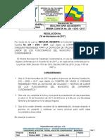 -B- DECLARATORIA DE DESIERTA 234 SGG DOTACION