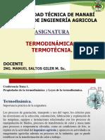 Clase 1 Termodinamica y Termotecnia