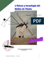 Física y tecnología del molino de viento