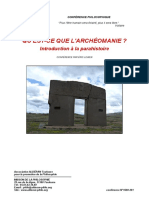 Archéomanie