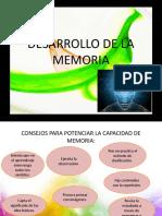 DESARROLLO DE LA MEMORIA diapo