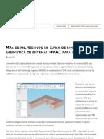 Más de mil técnicos en curso de simulación energética de sistemas HVAC para edificaciones _ ACR Latinoamérica