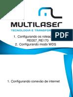 Configuração RE057_RE170
