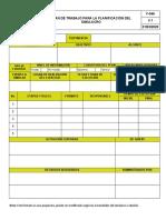 F-046 Plan de Trabajo Simulacros