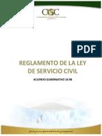 Ley y Reglamento del Servicio diplomático