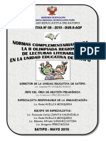 Directiva Nº008-2010 II Olimpiada Regional de Lecturas Literarias 2010 UGEL SATIPO Rode Huillca.Docx