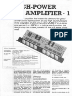hi fi amplifier