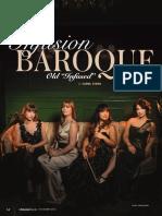 Infusion Baroque by Carol Xiong (La Scena Musicale Nov 2018)