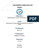 tarea 4 Educacion para la Paz