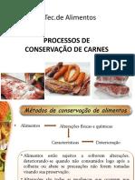 Processos de conservação