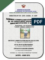 Directiva Nº015-2010 Argumentacion y Debate UGEL Satipo Rode Huillca.docx