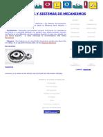 Maquinas y Sistemas de Mecanismos