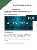 MadTech_ a Revolution Between Martech and Adtech