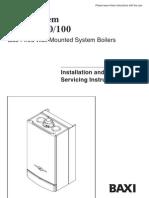 Baxi System 35 60 Service manual