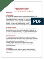 Lenguaje y Comunicacion Capitulo 2