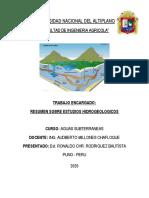 TRABAJO DE AGUAS SUBTERRANEAS