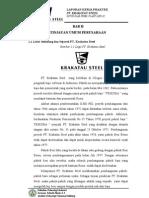 Bab II --Tinjauan Umum PT. KRAKATAU STEEL