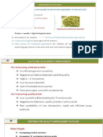 Pulses anti nutritional factors
