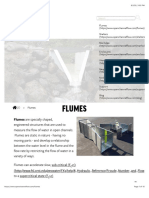 Flumes for Accurate Flow Measurement