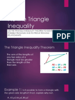 7.5 The Triangle Inequality
