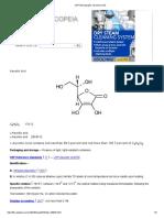 USP Monographs_ Ascorbic Acid