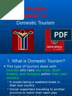 6 Domestic Tourism