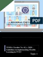 TVET Forum - Program Registration