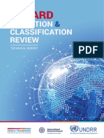 HAZARD DEFINITION & CLASSIFICATION REVIEW - TECHNICAL REPORT