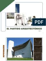 EL PARTIDO ARQUITECTÓNICO
