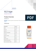 XLD Agar for Selective Isolation and Enumeration