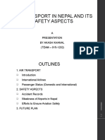Air Transport and its safety aspects