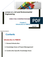 2. Introduction to PMBOK