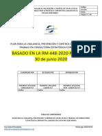Modelo de Plan para la VPC C19 - la RM_448-2020-MINSA