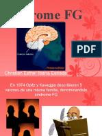 Síndrome FG