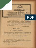 Seção Do Candidato à ESAo - Gen Flamarion Barreto Lima